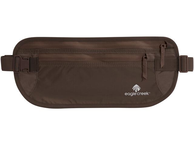 Eagle Creek Undercover Cintura porta soldi DLX, marrone